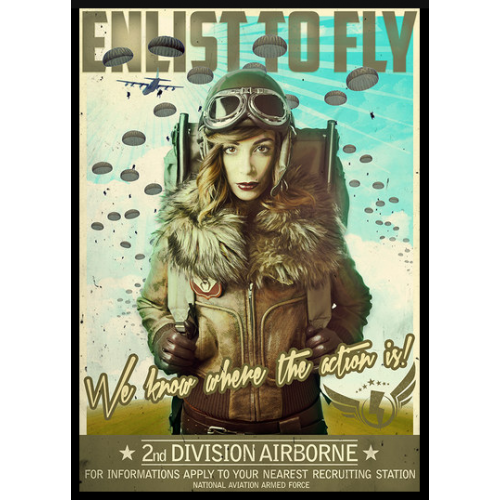 Enlist to fly